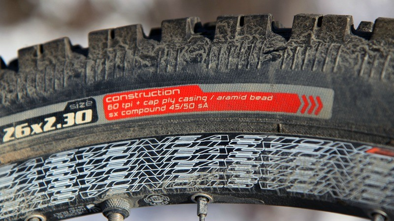 Rubber compounds harden in cold temperatures. Consider switching to tires with softer rubber to enhance grip during wintertime riding. Also think about moving to a wider tire and decreasing operating pressures, too