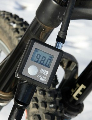 Suspension components are affected by the cold, too. Air pressures drop, oil thickens, and friction increases but you can adjust things to compensate for a better ride