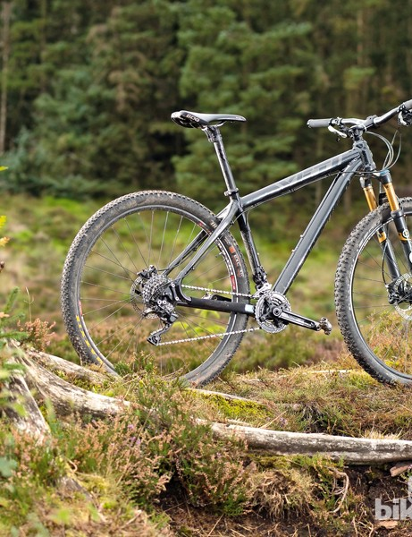 Yeti ARC Big Top: aluminium front end and carbon rear