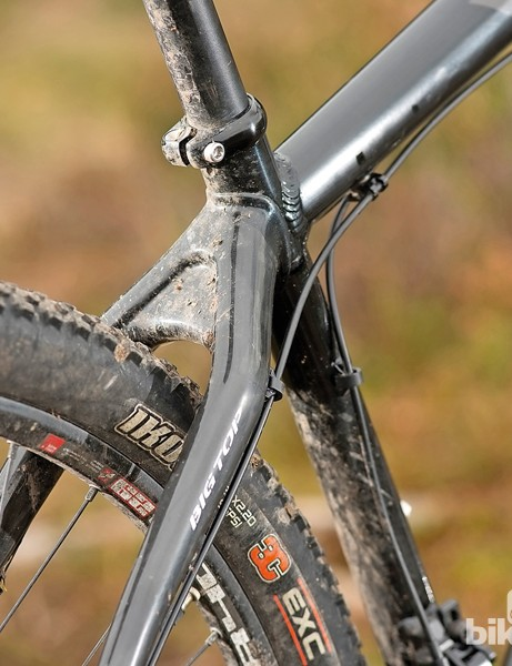 Yeti ARC Big Top: there isn't a lot of room here for mud from UK winter trails