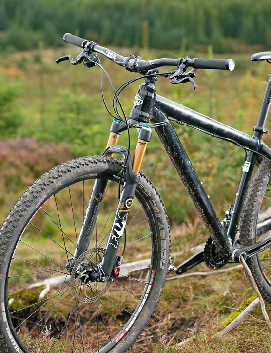 Yeti ARC Big Top: big wheels allieviate some of the frame's stiffness  to create a fun ride