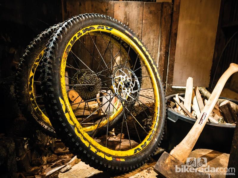 Mavic Crossmax WTS 650b wheels