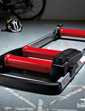 Elite's Real E-Motion rollers offer variable resistance and smart connectivity