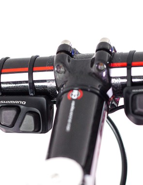 Shimano Di2 Climbing Shifters make the Hope hydraulic disc set-up possible