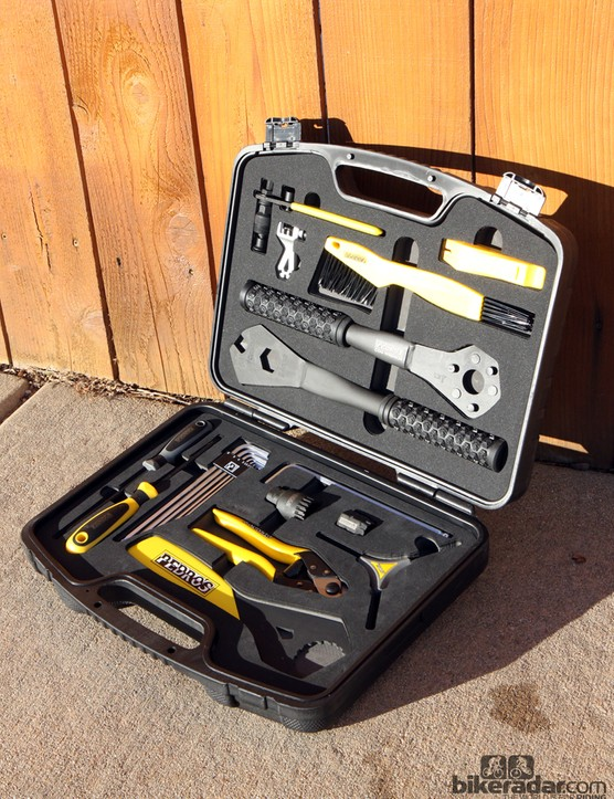 The Pedro's Apprentice Tool Kit looks to be a good way to get your home shop up and running