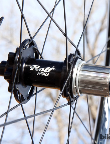 Rolf Prima centers its wheels around CNC-machined hubs built by White Industries