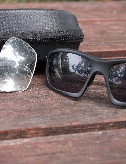 The JetBlack Turbulence VX glasses are both functional and stylish - included are multiple lenses and a hard case