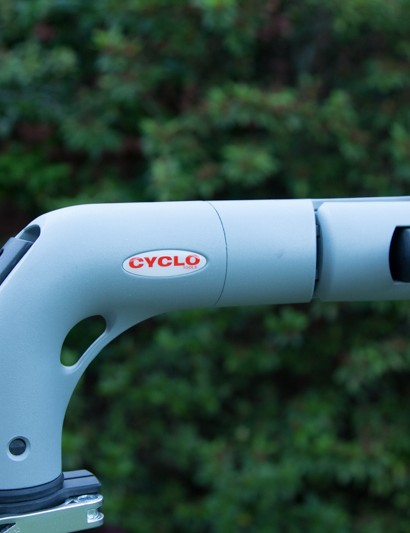 Soft curves are stylish and practical - lever on the back allows for angle adjustment