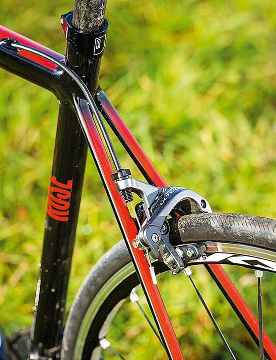 Rose Xeon RS3000: exceptionally thin seatstays add a bit of rear end comfort