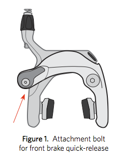 According to the recall, an attachment bolt for the front brake can come loose. This could allow the cable clamp to detach and potentially result in the sudden loss of braking