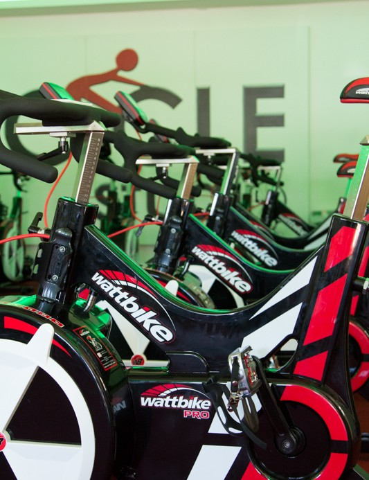 Cycle Studio, much like Art of Cycling have chosen the Wattbike for its studio