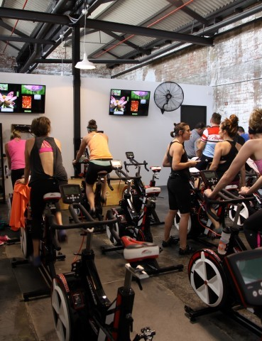 Art of Cycling - a new spin studio and cafe in Yarraville, Victoria - it's a clear example of the changing landscape in indoor cycling