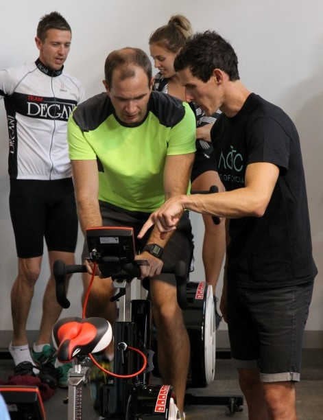 Mitchel of Art of Cycling discusses how to use the Wattbike's power information