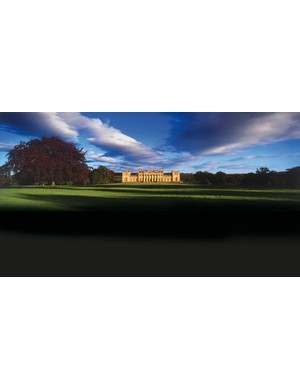 Harewood House, the venue for the Dare2B Yorkshire Festival of Cycling