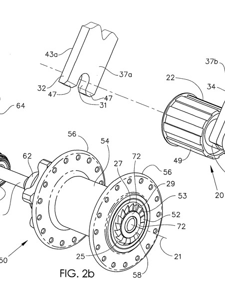 The rear SPEEDrelease design is much more radical and features a split hub whereby the freehub body - and the cassette - stays attached to the dropout