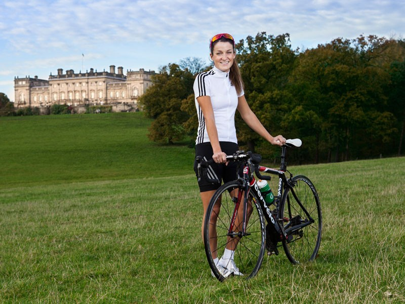 Lizzie Armitstead, the ambassador for the Dare 2B Yorkshire Festival of Cycling