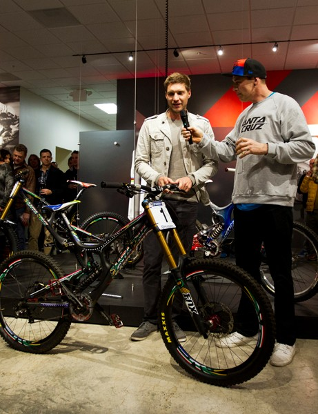 Two of the 25 Minnaar replica V10s were already spoken for following their debut at the Santa Cruz holiday party