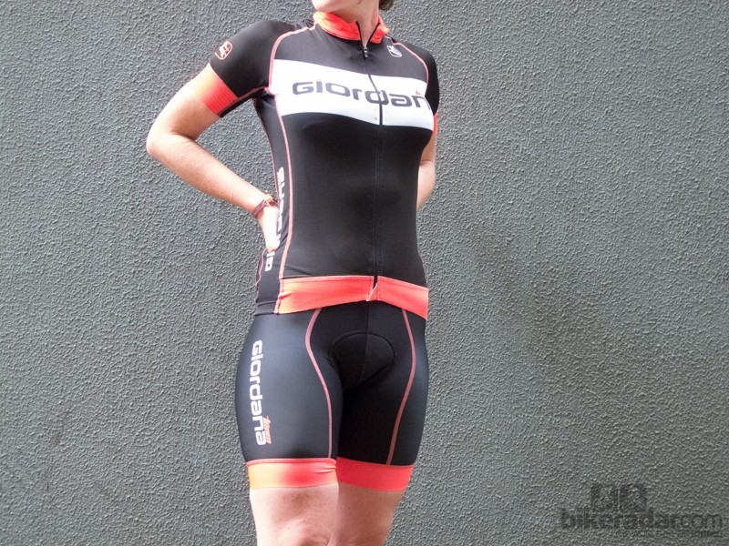 Giordana Women's Trade FR-C Team jersey and bib shorts - stylish and amazingly comfortable