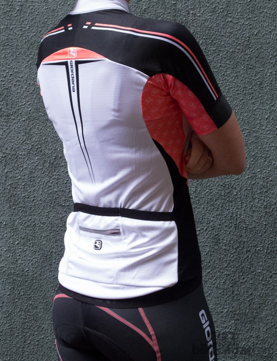 Giordana Women's Body Clone FR-C short-sleeve jersey - provides a less racy-looking alternative to the Trade FR-C jersey