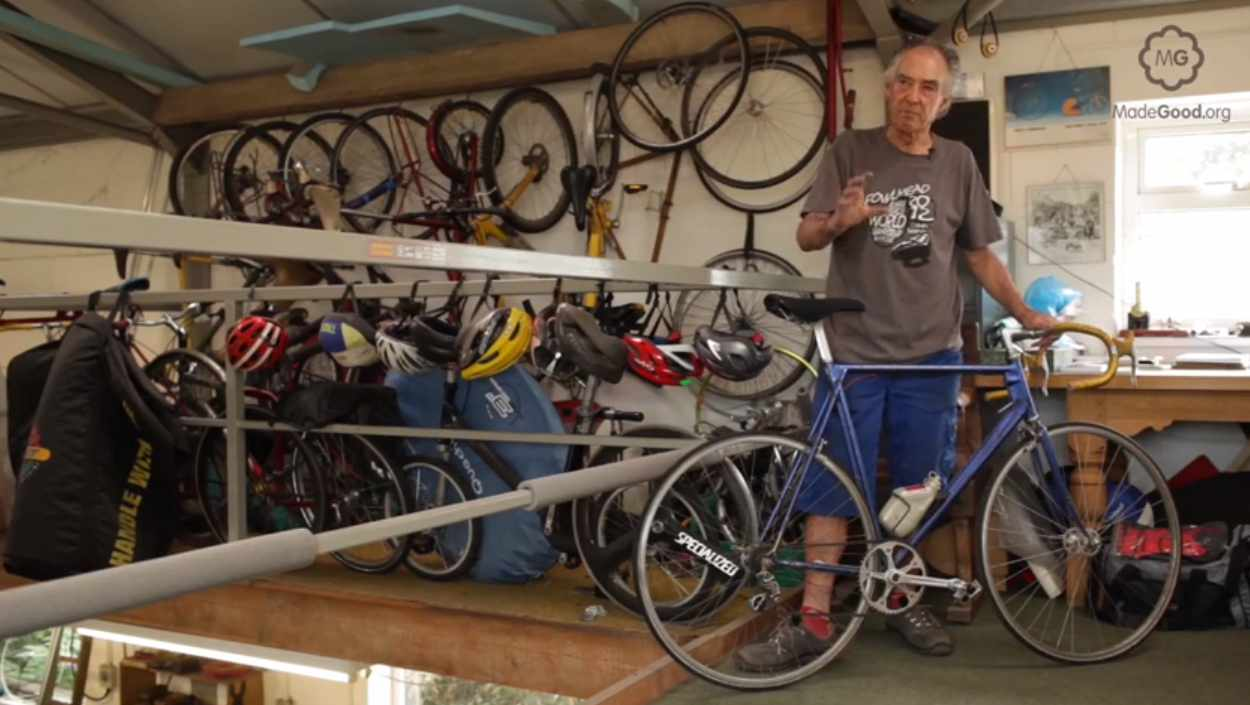 Mike Burrows explains how frame material and tube size affects a bike's performance