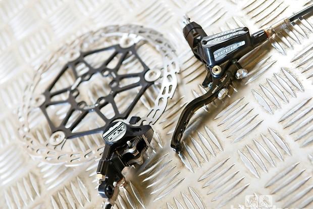 Hope Tech 3 X2 mountain bike disc brakes