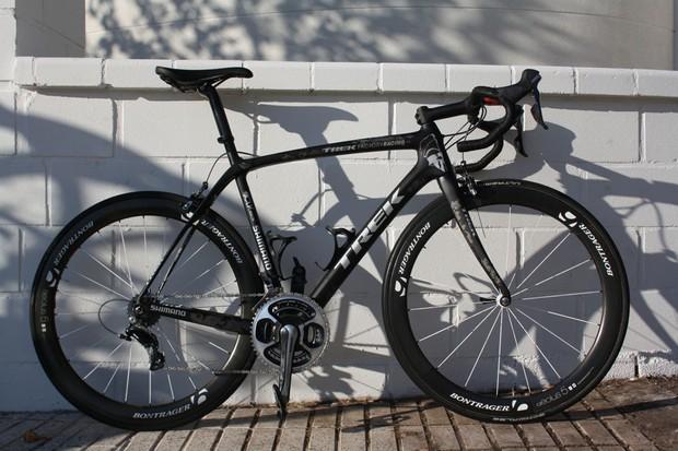 Fabian Cancellara's Trek Domane 6-Series for 2014