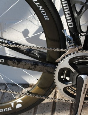 Cancellara makes the switch from Speedplay Zero Titanium pedals to Shimano in 2014