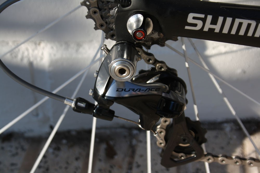 Cancellara's sticking with mechanical transmission in 2014