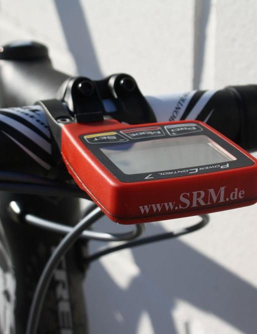 Cancellara's SRM head unit