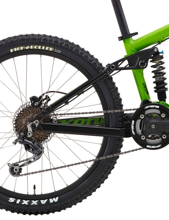 The Stinky 24 has 100mm of rear suspension travel