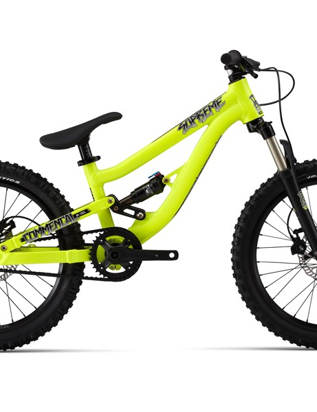 The Supreme 20 is a singlespeed with 100mm of rear suspension