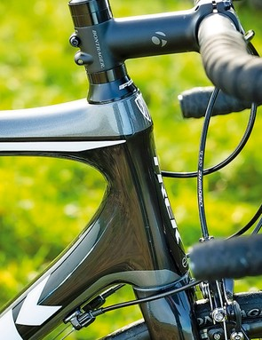 Trek Madone 3.1: the higher head tube H2 fit suits most riders