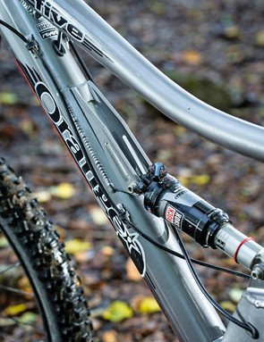 Orange Five RS: the RockShox Monarch RT3 shock performs well