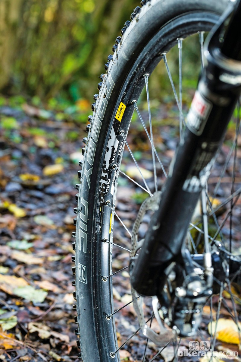 The Nobby Nic tyres were frankly awful, especially in wet conditions
