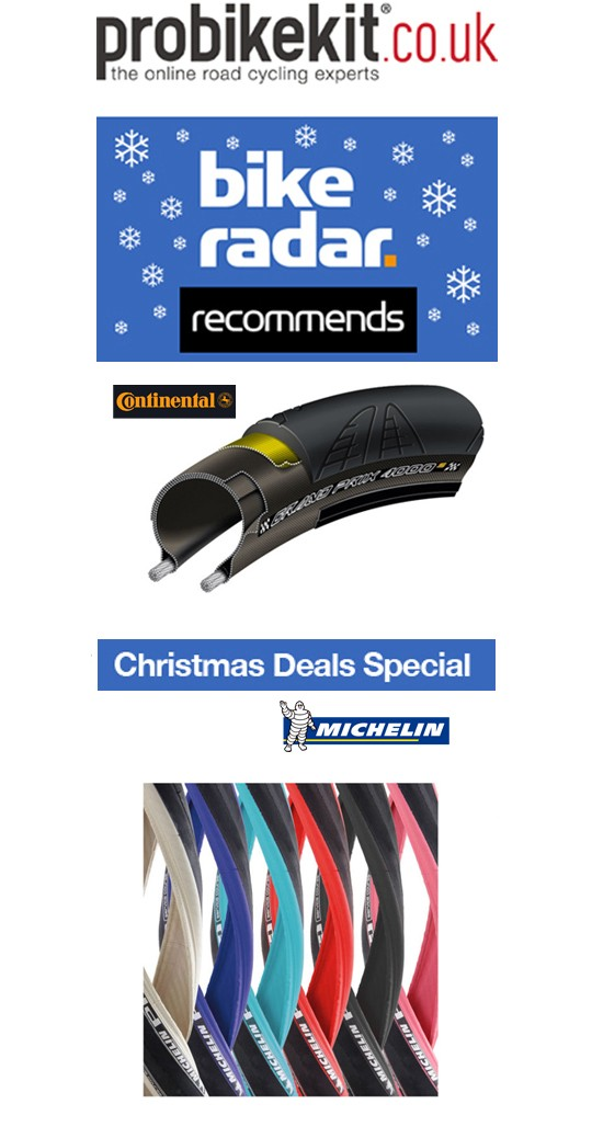 Tuesday deal: Over 50% off Continental Grand Prix 4000S and Michelin Pro 4 tyres