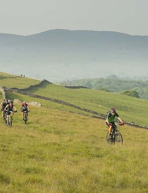 The Race's Crossing is a fully-supported three-day mountain bike event