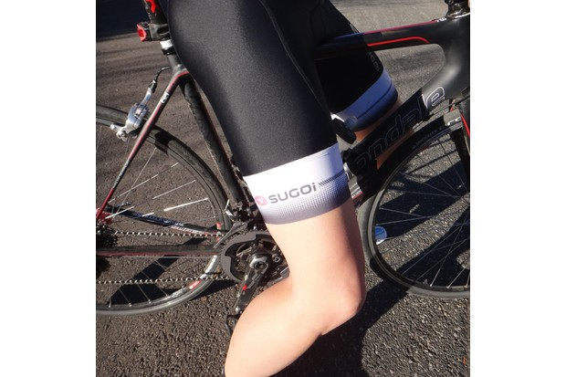 Sugoi's leg bands are the best of the bunch