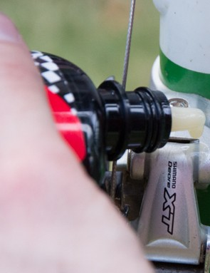 Extra tip: Lube front mech