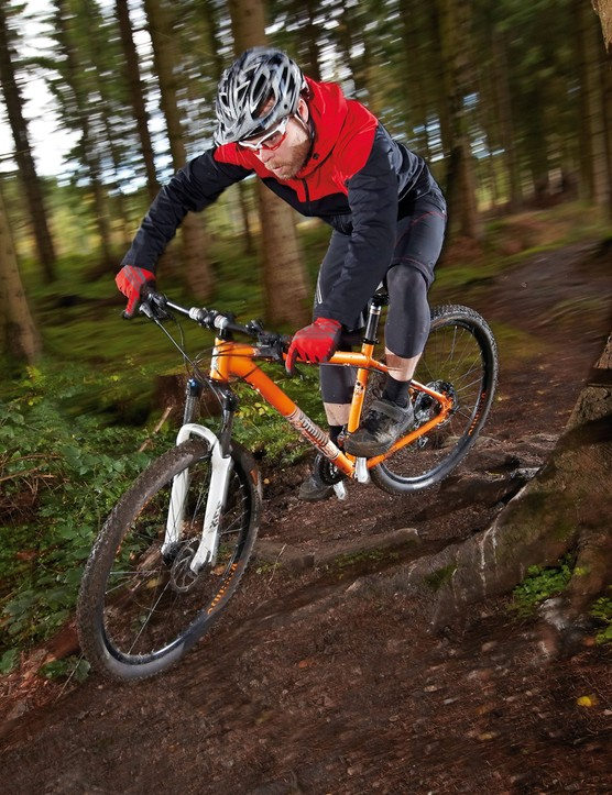 The Voodoo Aizan wants to be pushed hard on descents