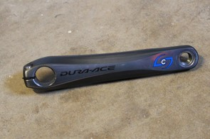 Stages left-crank-arm power meter is virtually invisible –to the eye and to the scale