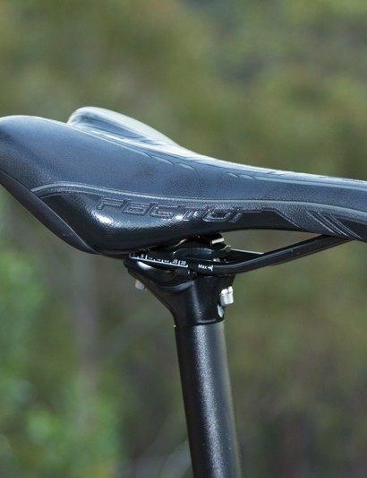 The saddle and seatpost were perfect for recreational riders