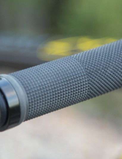 The Clark lock-on grips are too firm for our liking - this is the first change we recommend you make