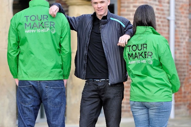 Chris Froome wants you to help make the Tour go with a bang