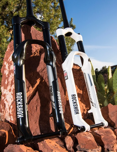 The RockShox PIke has been showered in superlatives since its introduction this spring. And for good reason – it has all the attributes a quality trail for should