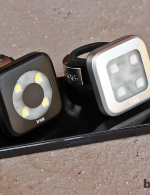 It's rare these days that you'll find me mingling in traffic without a set of Knog Blinder 4 LED flashers attached to my bike