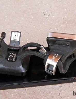 Built-in USB plugs on the Knog Blinder 4 lights make for ultra-easy recharging