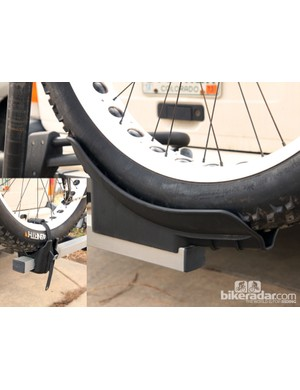 Thule now offers the 919 Fat Tire kit so that current T2 hitch rack owners can load up fat bikes
