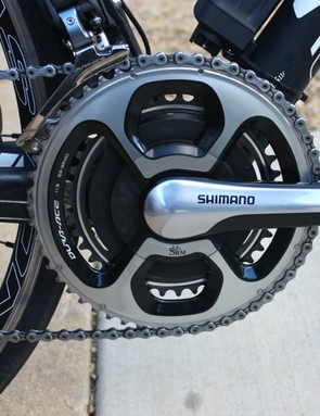 The SRM PowerMeter Shimano 11-Speed offers accuracy and reliability