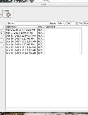 SRM offers its own analysis software, but it's fairly primitive