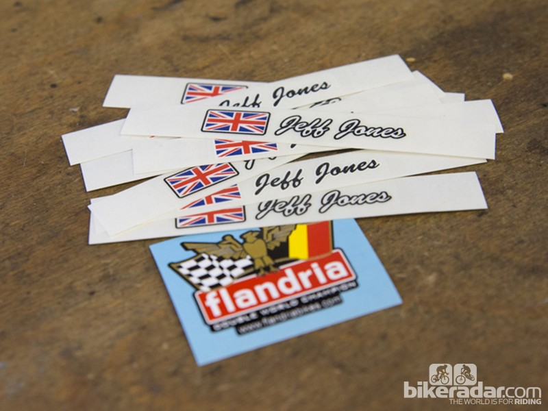 Flandria custom stickers